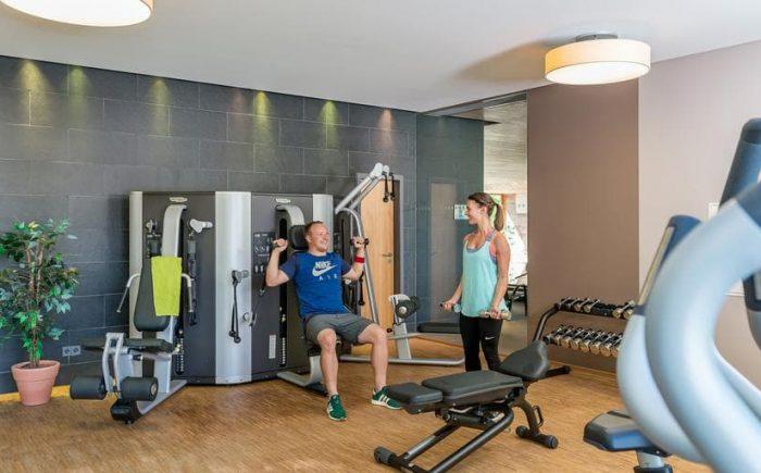 Landhotel Allgäuer Hof Fitnessraum