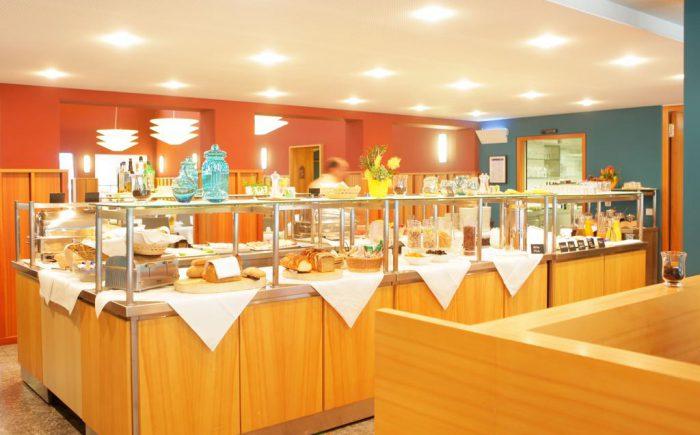 Landhotel Allgäuer Hof Frühstücksbereich