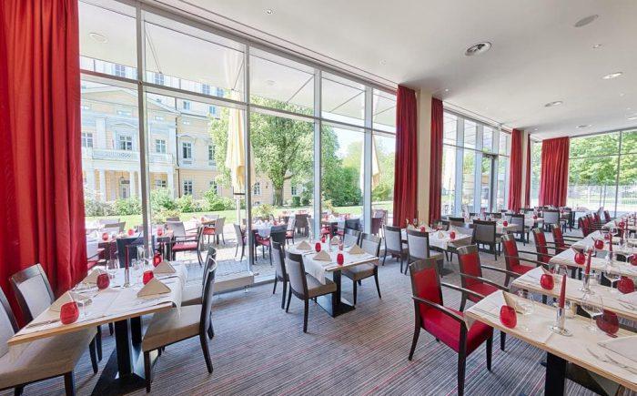 Welcome Hotel Darmstadt Restaurant direkt im Haus mit leckerem Essen.