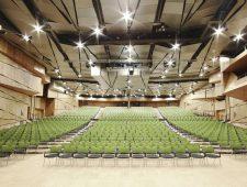 Welcome Hotel Darmstadt ein sehr großer Tagungsraum für Tagungen und Messen.