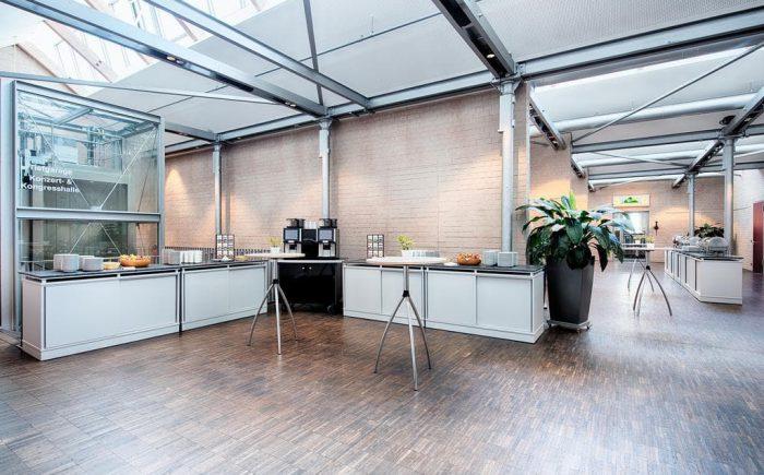 Welcome Kongress Hotel Bamberg Snacks und Cafe Bereich