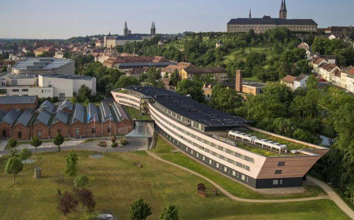 Welcome Kongress Hotel Bamberg Luftaufnahme