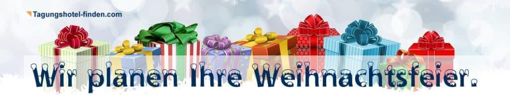 Wir planen Ihre Weihnachtsfeier.
