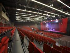 ESPERANTO Kongress- und Kulturzentrum der große Tagungsraum bietet Ihnen viele Möglichkeiten zum Tagen oder große Seminare.