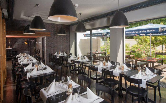 mainhaus-stadthotel-frankfurt Restaurant und einer sehr leckeren und umfangreichen Küche.