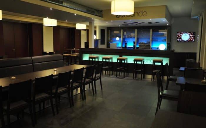 Tagungszentrum Blaubeuren schöne Bar für gute Abende nach der Tagung.