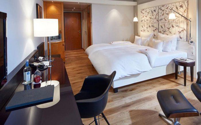 Ein standard Doppelzimmer für zwei Personen