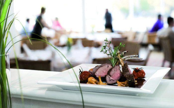 Lecker Gerichte aus der exklusiven Küche des Tagungshotels